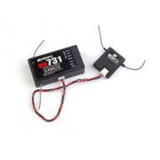 JR-RD731 7-Channel Receiver with DSMJ 2.4G Technology