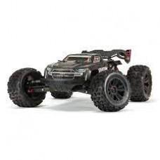 ARRMA 1/8 KRATON 4WD EXtreme Bash Roller Speed Monster Truck, Black