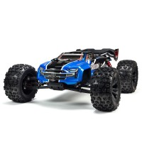 ARRMA 1/8 KRATON 6S V5 4WD BLX Speed Monster Truck with Spektrum Firma RTR, Blue