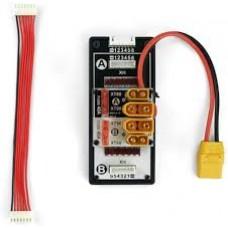 SkyRC Dual Port Safe Parallel Adapter XT60 XH 2-8s plugs