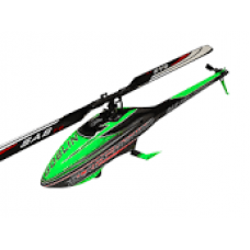 GOBLIN BLACK THUNDER 700 GREEN/CARBON (WITH THUNDERBOLT MAIN AND TAIL BLADES)