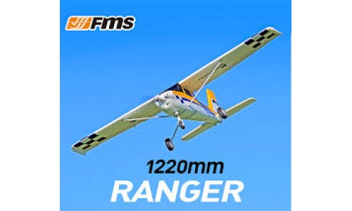 "FMS 1220mm (48"") Ranger PnP (Floats Included & Reflex 3 Axis Gyro )"