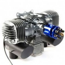 DLE-130 130cc Twin Engine, with Standoffs